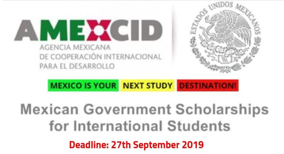 Mexico Government Scholarship 2020 for International Students