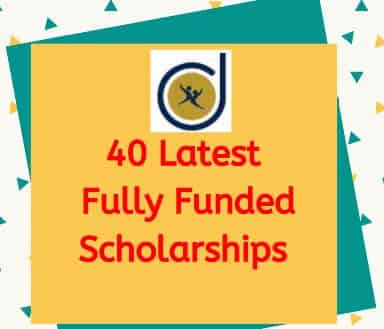 List Of Fully Funded Scholarships For International Students 2020 In Abroad