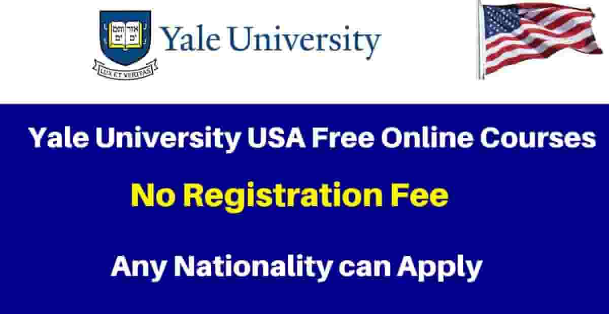 yale university free online courses for all international