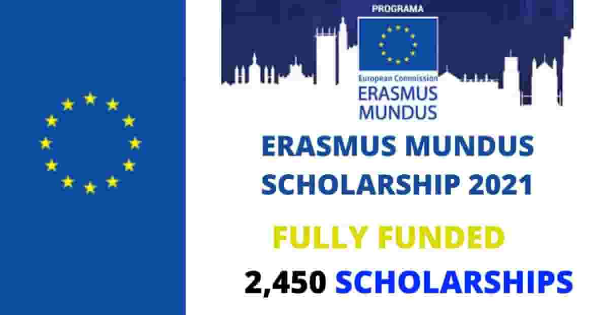 Get Ready for Erasmus Mundus Scholarship 2020 2021 (Fully ...