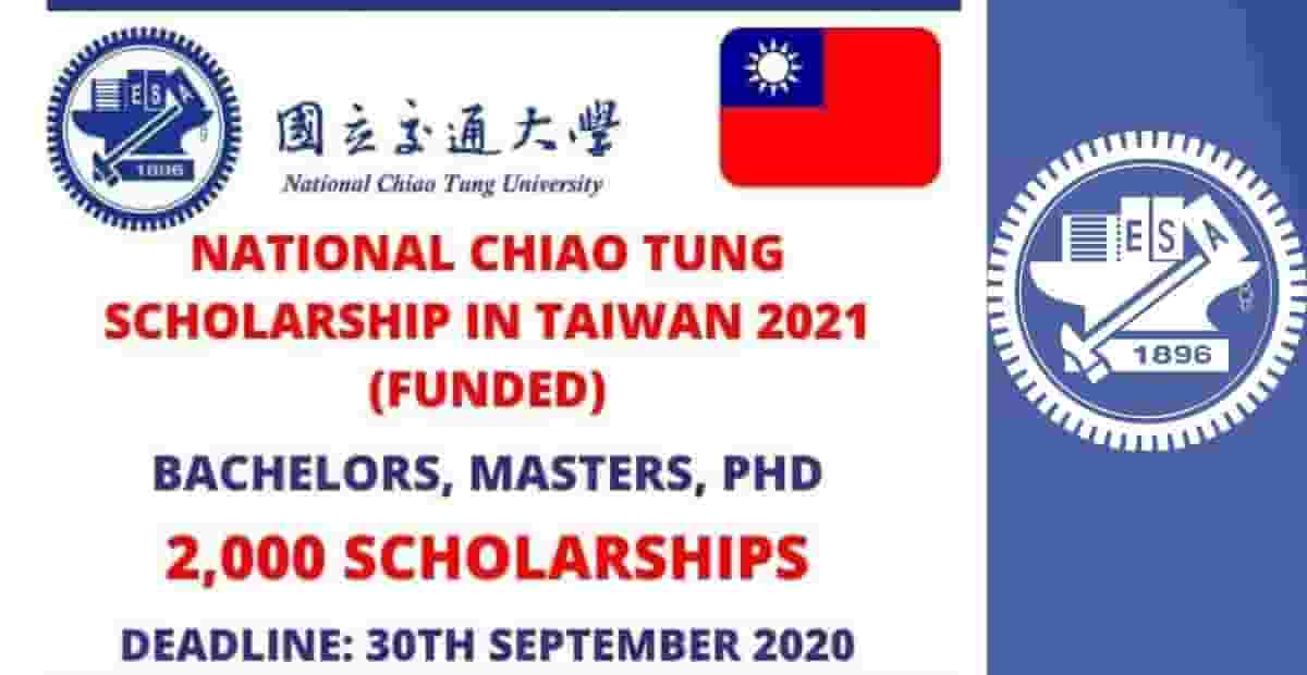 National Chiao Tung University Scholarships in Taiwan 2021 ...