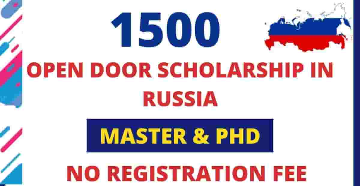 15,00 Russian Government Scholarship 2021 for Masters & PhD